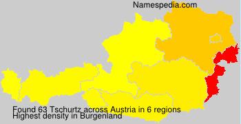 Surname Tschurtz in Austria