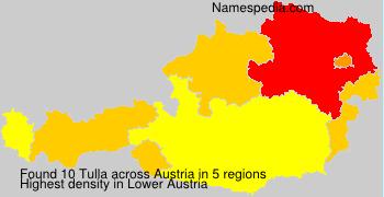 Familiennamen Tulla - Austria