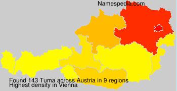 Surname Tuma in Austria