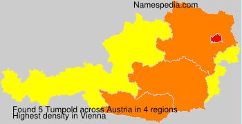 Surname Tumpold in Austria