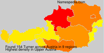 Surname Turner in Austria