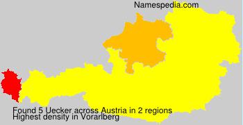Surname Uecker in Austria