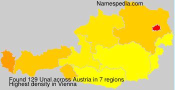 Familiennamen Unal - Austria