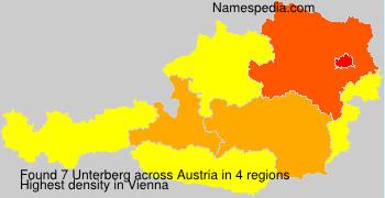 Surname Unterberg in Austria