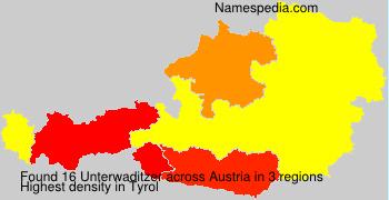 Surname Unterwaditzer in Austria