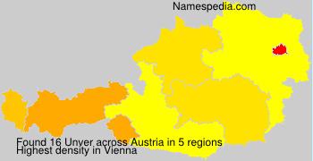 Familiennamen Unver - Austria