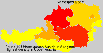 Surname Urferer in Austria