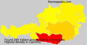 Familiennamen Vallant - Austria
