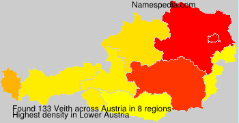 Surname Veith in Austria