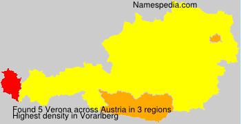 Surname Verona in Austria