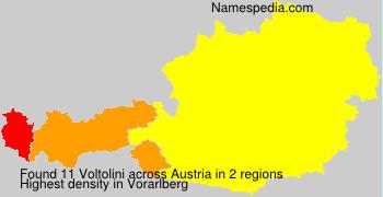 Surname Voltolini in Austria