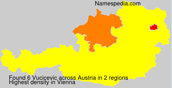 Surname Vucicevic in Austria