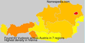 Surname Vuckovic in Austria