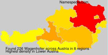 Surname Wagenhofer in Austria