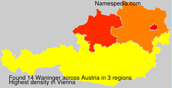 Surname Waninger in Austria