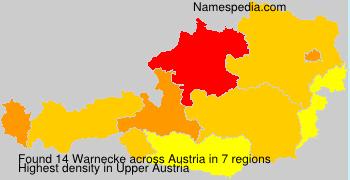 Surname Warnecke in Austria