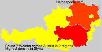 Surname Weleba in Austria