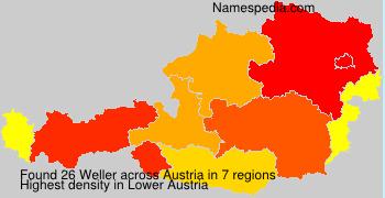 Surname Weller in Austria