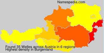 Surname Welles in Austria