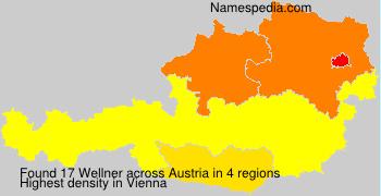 Surname Wellner in Austria