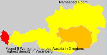 Familiennamen Wenigmann - Austria