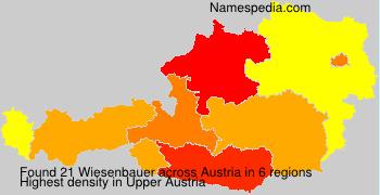 Surname Wiesenbauer in Austria
