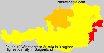 Surname Windt in Austria