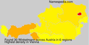 Surname Winkelmann in Austria