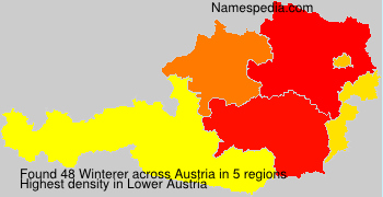 Surname Winterer in Austria