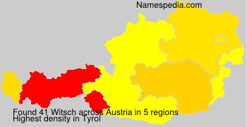 Surname Witsch in Austria