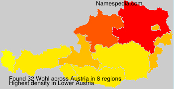 Surname Wohl in Austria