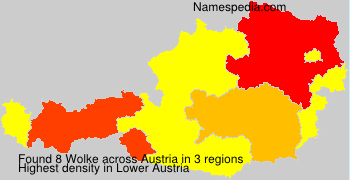 Surname Wolke in Austria