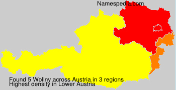 Surname Wollny in Austria
