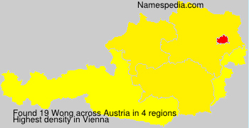 Surname Wong in Austria