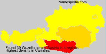 Surname Wuzella in Austria