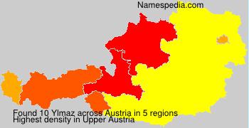 Familiennamen Ylmaz - Austria