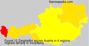 Surname Zanghellini in Austria