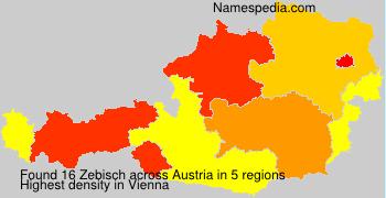 Surname Zebisch in Austria
