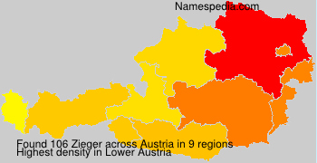 Surname Zieger in Austria