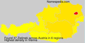 Surname Zielinski in Austria