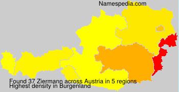 Surname Ziermann in Austria