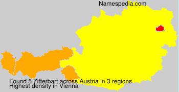 Surname Zitterbart in Austria