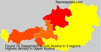 Surname Zweigmann in Austria