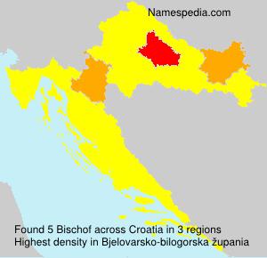 Surname Bischof in Croatia