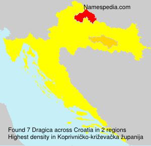 Familiennamen Dragica - Croatia