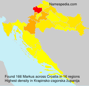 Surname Markus in Croatia