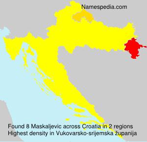 Familiennamen Maskaljevic - Croatia