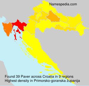 Paver - Croatia