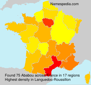Surname Ababou in France