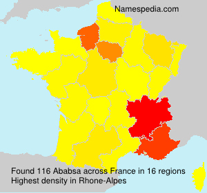 Surname Ababsa in France